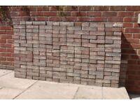 "275 approx paving bricks 8""x4""x2"" FREE"