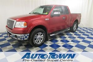 2008 Ford F-150 Lariat/ALLOY WHEELS/MEMORY SEATS/RUNNING BOARDS