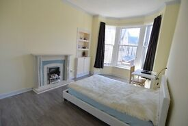 Large double bedroom for male student / professional