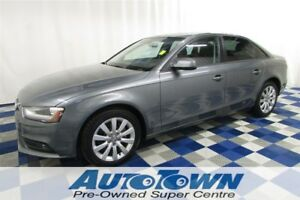 2014 Audi A4 2.0 Komfort AWD/ACCIDENT FREE/LEATHER/SUNROOF