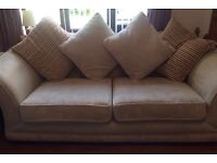 DFS Sofas - Two Cream/Beige Sofas for only £125 - Quick Sale Needed