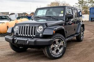 2017 Jeep WRANGLER UNLIMITED New Car Sahara|4x4|Dual Top|Navi|Bl