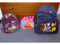 Children's bags (Very good condition)