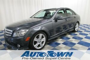 2010 Mercedes-Benz C-Class C300 4MATIC AWD/LOW KM/SUNROOF/LEATHE