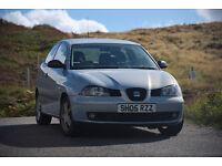 Seat Ibiza in Edinburgh, 2005, 75.000 Miles, 1.2L, New MOT - 12 month