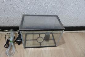 13L coldwater fish tank setup
