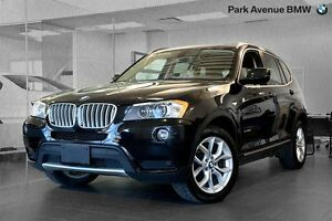 2014 BMW X3 xDrive28i SUPERIEUR // CAMERA + BI-XENON