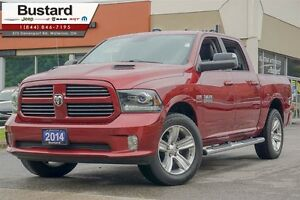 2014 Ram 1500 SPORT | CREW | HEATED | TRAILER BRAKE