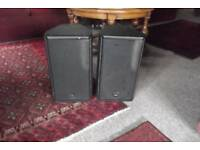PA SPEAKERS LOGIC LS 10 Good condition. Welcome to try before you buy.