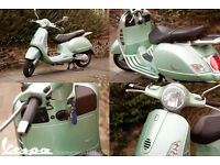 Vespa GT 125cc only 1950 miles! Great condition!