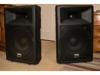 *Great Condition* IMG Stage Line PAB 115/SW speakers 350W max for sale