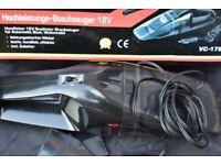 12V Portable Handheld Car Vacuum Cleaner Van/Cars Wet & Dry made in Germany
