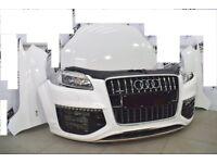 Car Part: Single unit set front end for Audi Q7 4L Facelift V12 5.0 TDI 2008- 2014 LHD