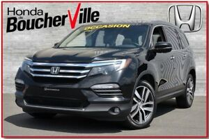 2016 Honda Pilot Touring AWD, DVD, Navigation, jamais accidenté