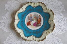 Vintage Victorian Plate.