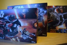 3 X Lego Star Wars sets for sale, 75145,75147 and 75150.