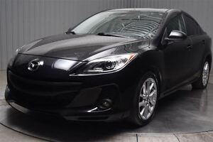 2013 Mazda MAZDA3 GT-E CUIR TOIT OUVRANT NAVIGATION MAGS