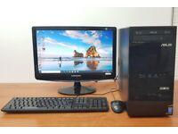 Asus PC Computer Windows 10, Intel Pentium, 8GB RAM & 500GB HDD