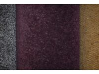 100% Polypropylene Carpet Wool Tech Aubergine 4m x 5m (159)