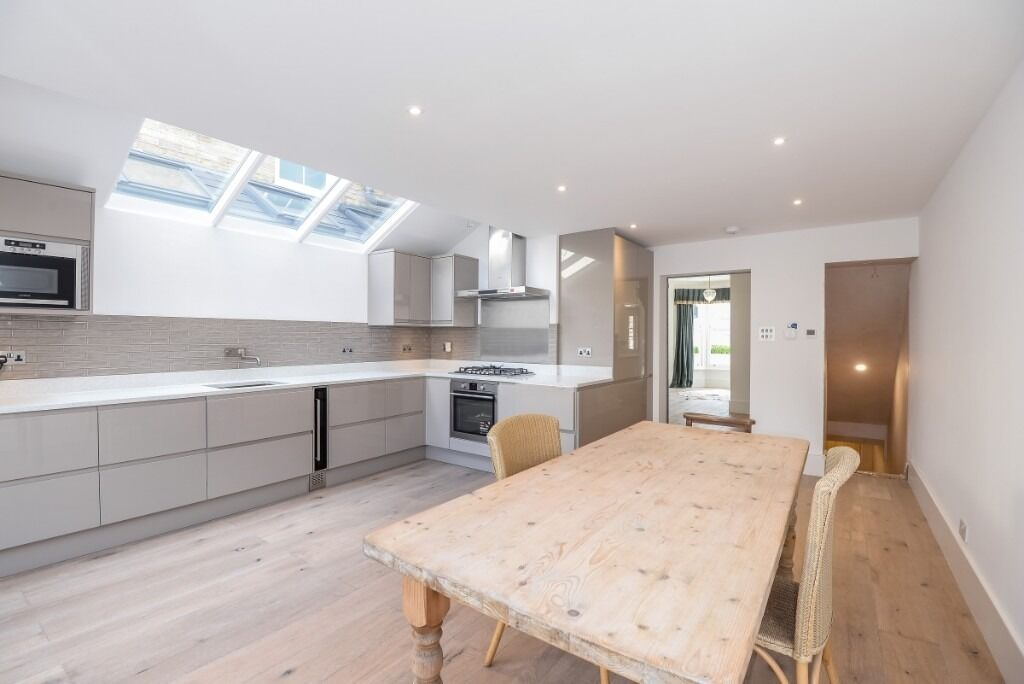 A spectacular four double bedroom, three bathroom house, Hartismere Road, SW6