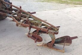 4-Furrow Plough Ransomes TS 73 Ford Motor Company 3 point linkage