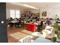 Affordable desks at lovely shared workspace near Shoreditch