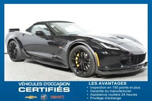 2017 CHEVROLET CORVETTE GRAND SPORT CONVERTIBLE