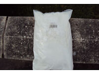 Ceramic tile grout. White, 5x 2.6KG bags