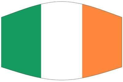 Irland Maske Mundschutz Mund-,Nasenschutz Behelfsmaske Top Ware