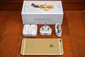 For sale IPhone 6 S plus 16 GB,gold,vodafone,box and charge.No marks on scratch.