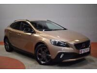 VOLVO V40 1.6 D2 CROSS COUNTRY LUX 5 Door Hatchback 113 BHP (bronze) 2014
