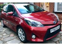 "2012 62 Toyota Yaris Hybrid ""T Spirit"" Top Spec Fully Loaded - PANORAMIC ROOF + SAT NAV + Hpi Clear"