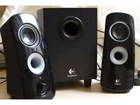 Logitech Z323 Speaker System with a Subwoofer - 360 degree sound - URGENT