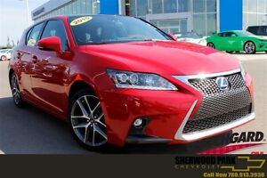 2015 Lexus CT 200h F-Sport| Sun| Nav| Heat Leath| Smrt Access/St