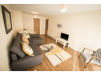 Short Term Flat for Rent (Night / Week / Month) Glasgow close to BBC & SECC Hydro 1 Bedroom 4 Person