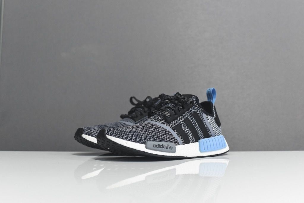 Adidas Nmd Blue And Grey