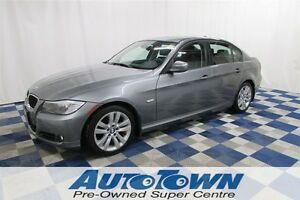 2011 BMW 323 i/ LOCAL/MEMORY SEATS/LEATHER INTERIOR
