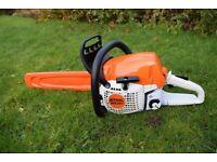 stihl ms 251 petrol chain saw