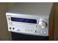 Onkyo CR-515DAB Compact Stereo system with B&W speakers and iPod dock