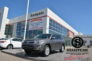 2013 Toyota Highlander Hybrid Comfort package w/Leather and Sunr
