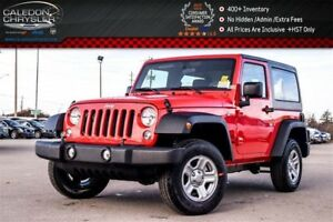2018 Jeep Wrangler JK New Car Sport|4x4|Hard Top|Air Condition|C