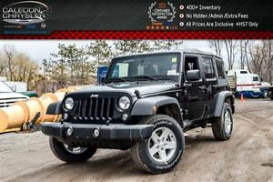 2017 Jeep WRANGLER UNLIMITED New Car Sport|4x4|Soft Top|Bluetoot
