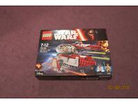 LEGO Obi-Wan's Jedi Interceptor Action Figure Set (75135) new & unopened box Unwanted present