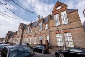 Beautiful spacious 2 bedrooms flat with great view in a 1881 old school on top of Hanover hill