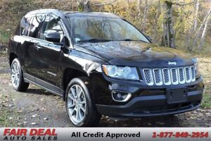 2014 Jeep Compass Limited: 4WD/Fully Loaded/Sunroof/Remote Start