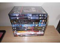 10 DVD,S Including The Tube, The Prisoner