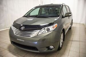 2014 Toyota Sienna Limited, Gr. electrique, Toit ouvrant, Cuir,