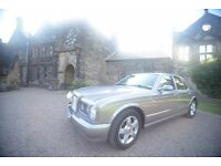 Bentley Arnage in tempest silver 1998 with extras