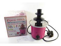 Elgento Pink Mini Chocolate Fountain 1606345