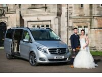High quality chauffeur VIP Mercedes V-Class with added luxury and comfort for all types of transport